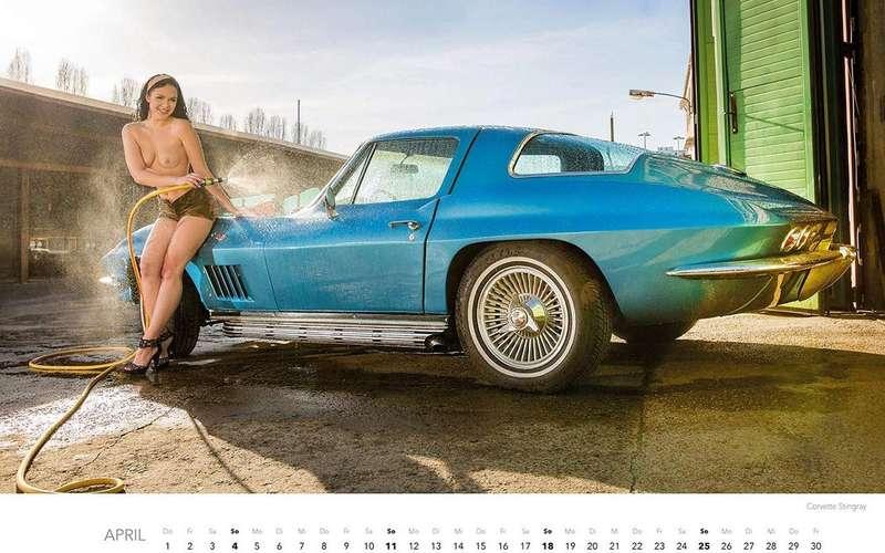 Девушки наавтомойке— пожалуй, лучший календарь 2021 года