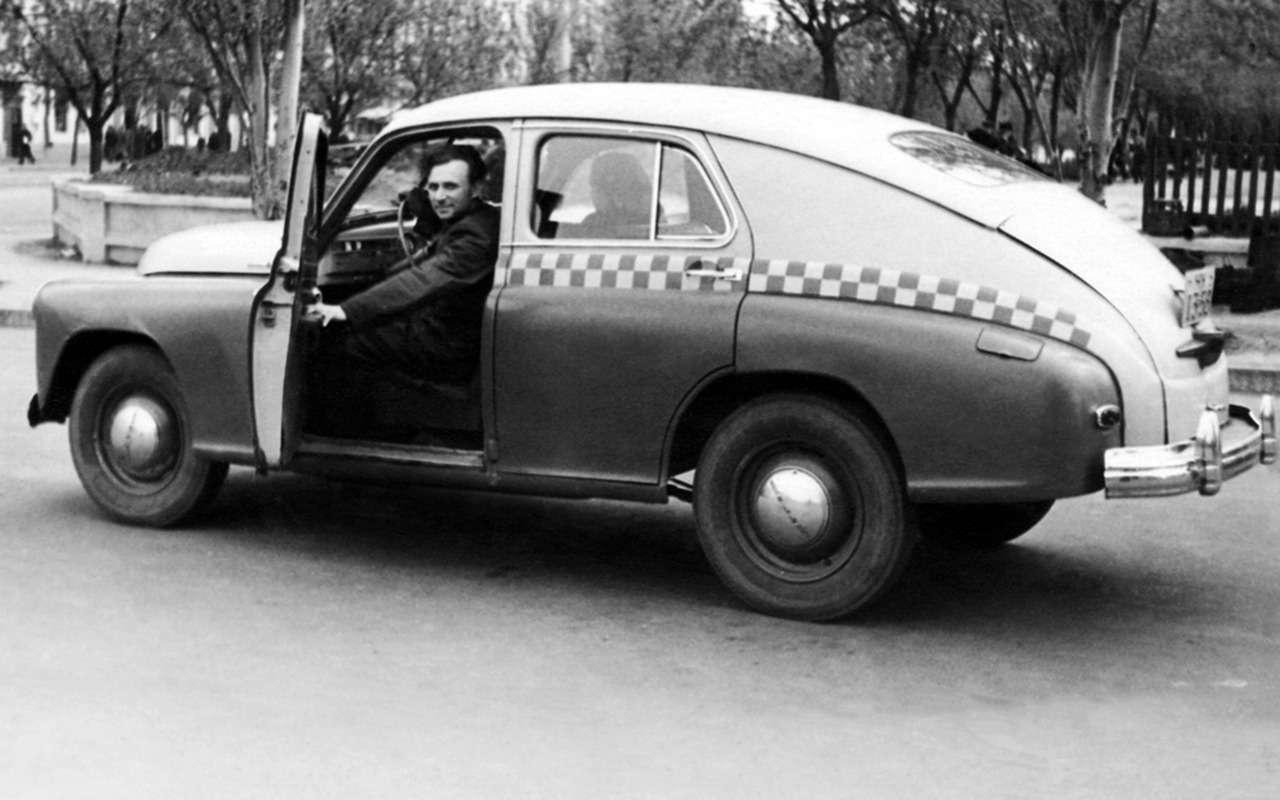 Всетакси СССР: лимузины, кабриолеты, иномарки— фото 1140115
