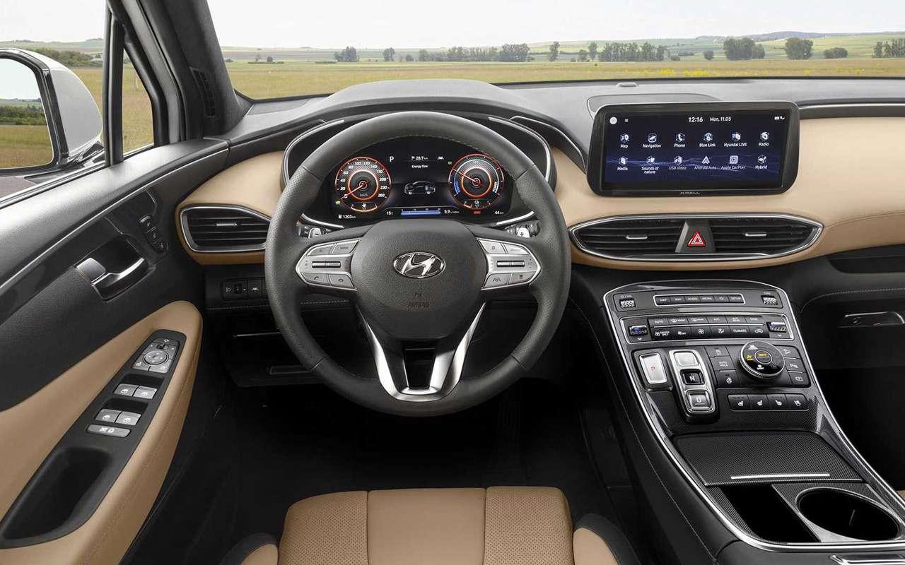 Обновленный Hyundai Santa Feпересел нановую платформу— фото 1137726