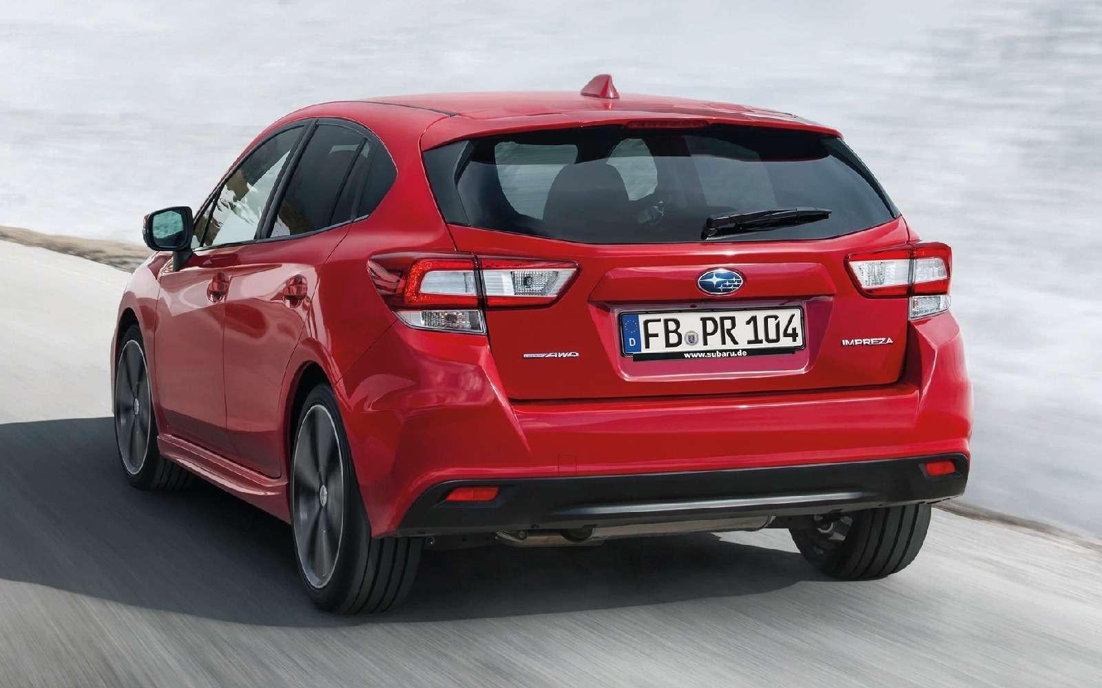 Новая Subaru Impreza— анонсирована европейская премьера— фото 770869