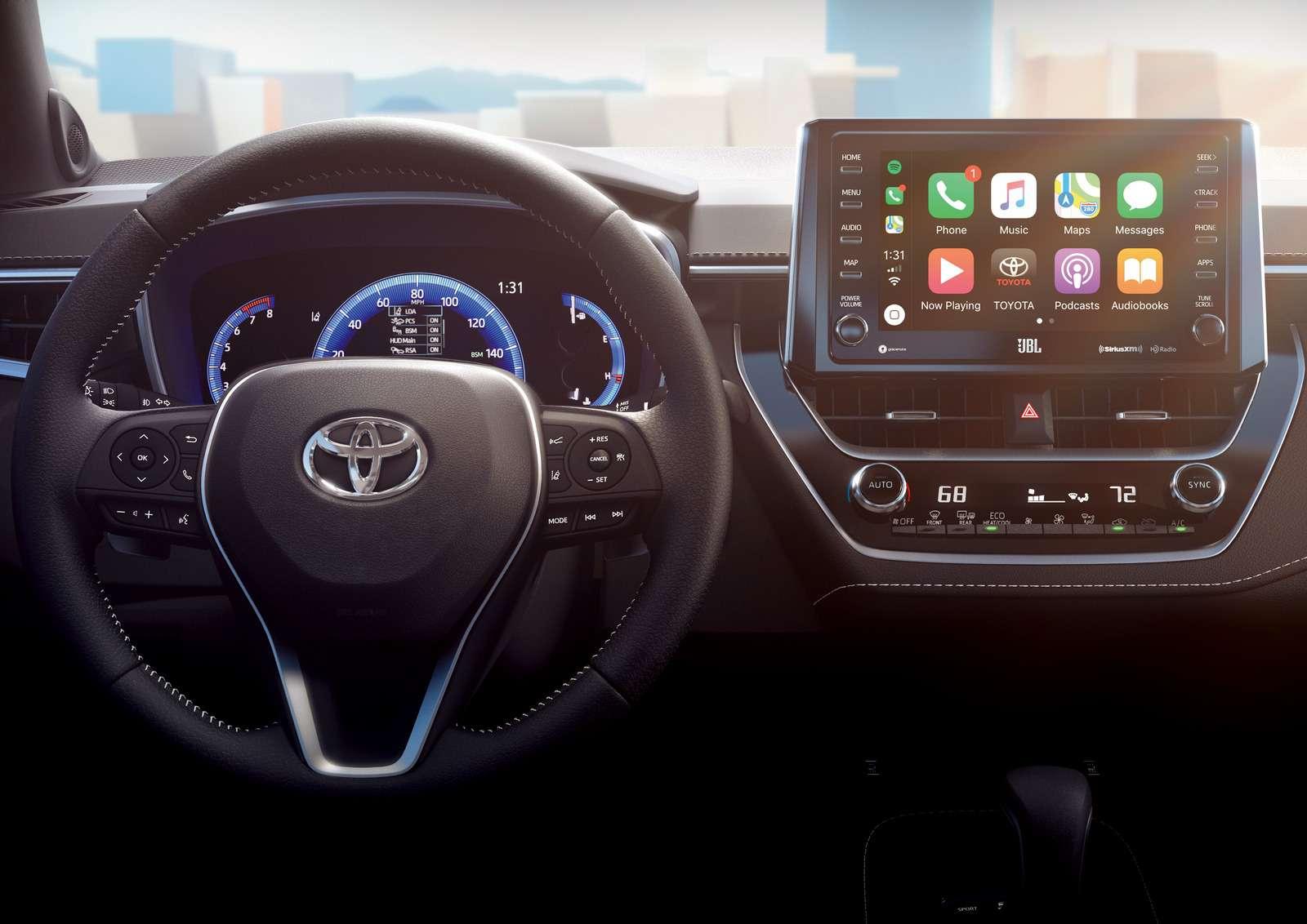 Новая Toyota Corolla: они назвали еенеудержимой!— фото 856197