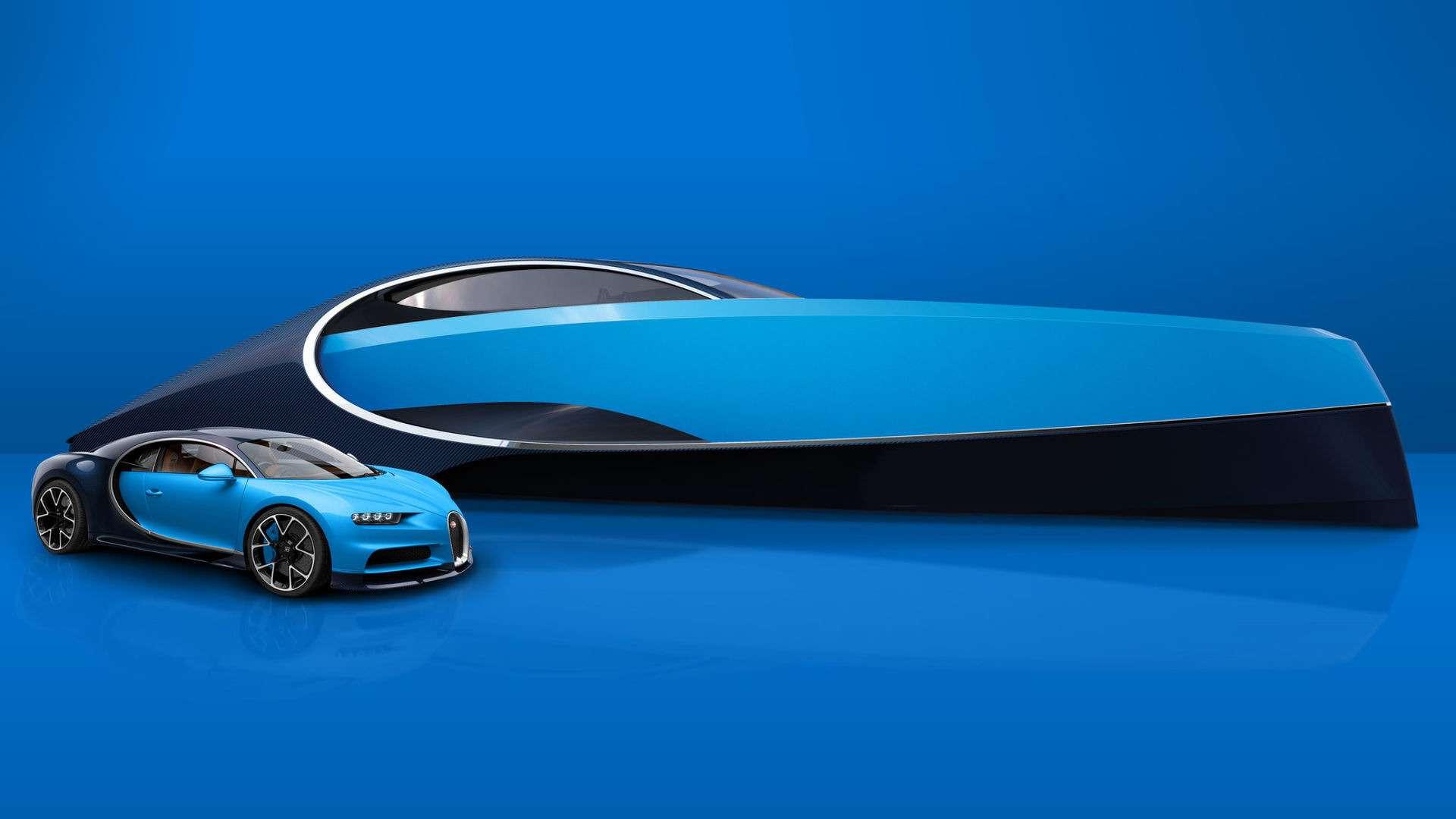 Наволне Широна: подмаркой Bugatti теперь можно купить яхту— фото 720154