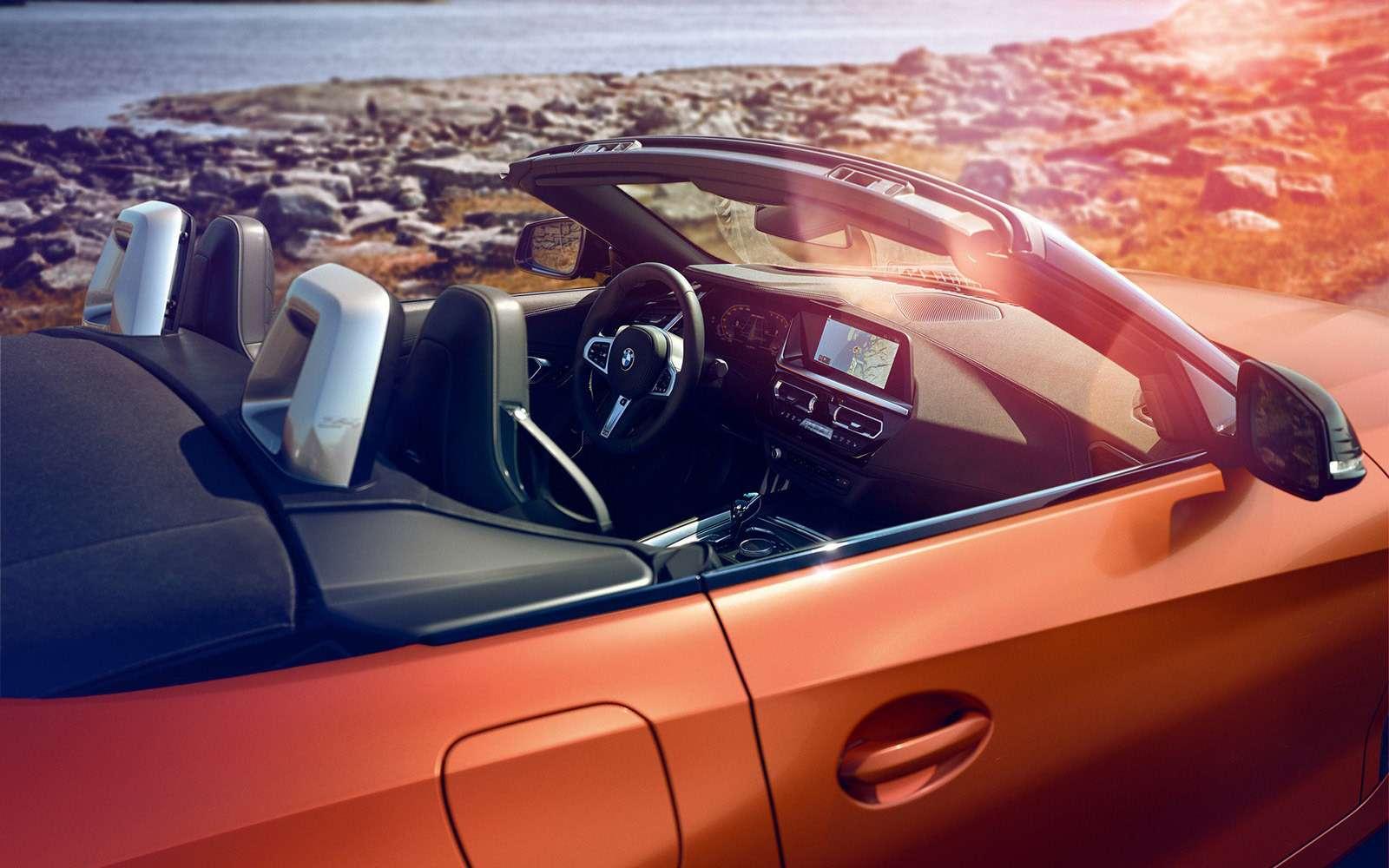 Облик BMW Z4раскрыли допремьеры— фото 896303