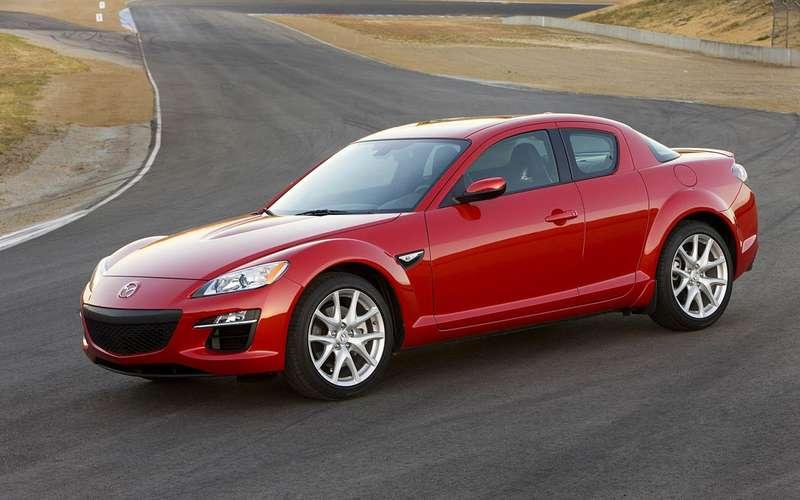 Mazda нашла дефектные подушки безопасности вRX-8и CX-9