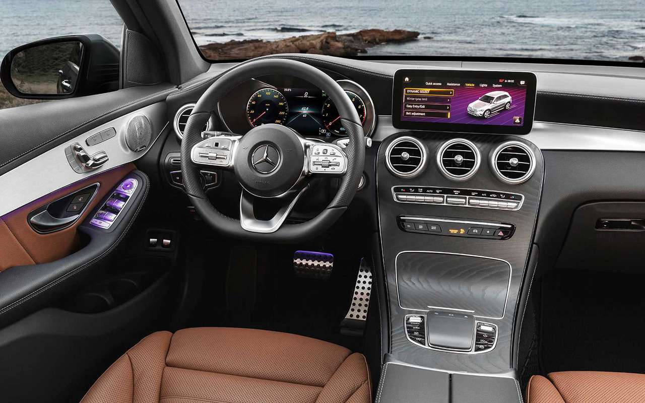 Обновленный Mercedes-Benz GLC: 10отличий— фото 953435