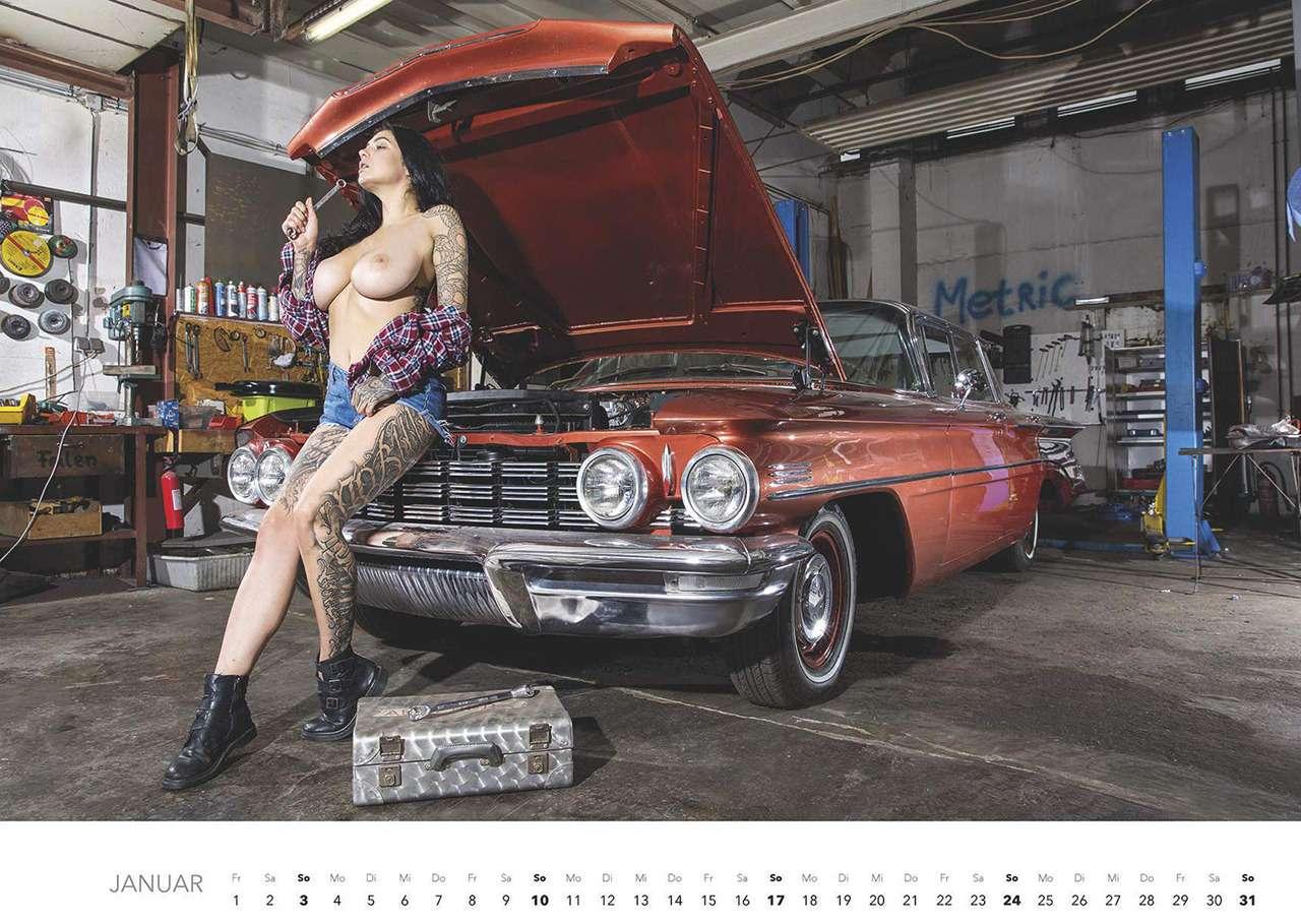 Мечты механика: девушки наавтосервисе (18+)— фото 1198671