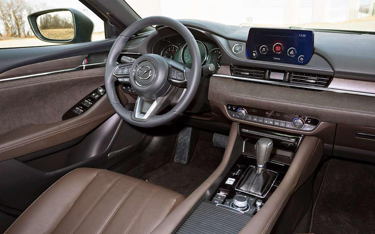 Новая Mazda 6: как она насамом деле едет— фото 950794