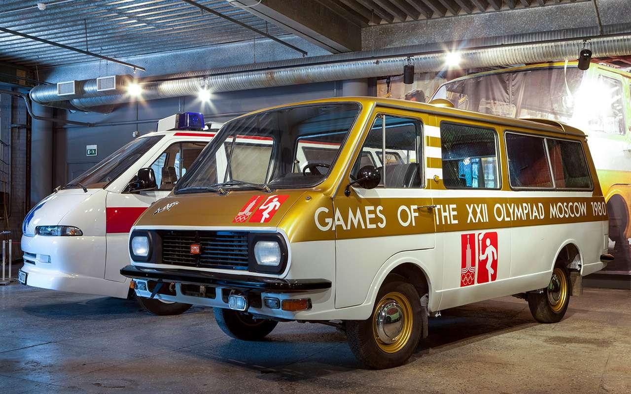 Тотсамый «рафик»: полная история главного микроавтобуса СССР— фото 1218810