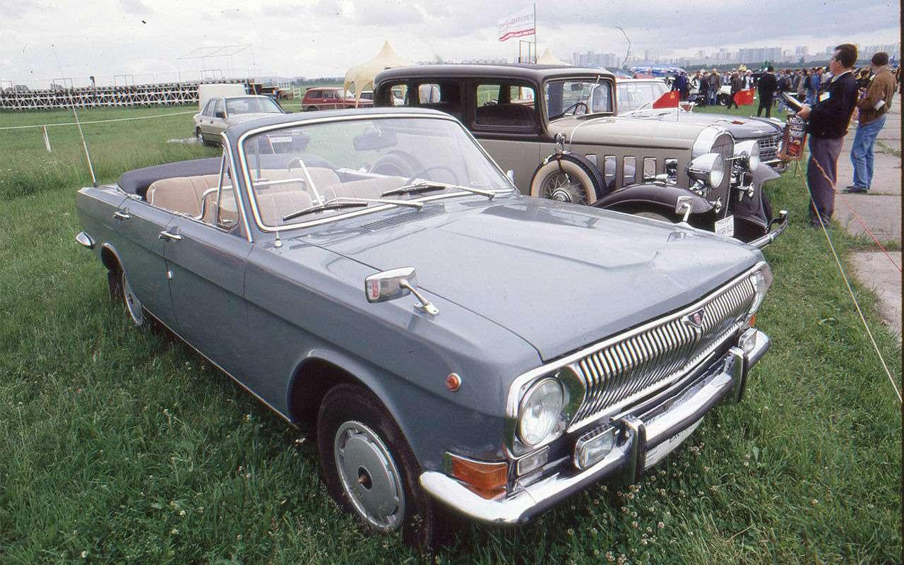 Парадные иповседневные: легковые автомобили Советской Армии— фото 846562
