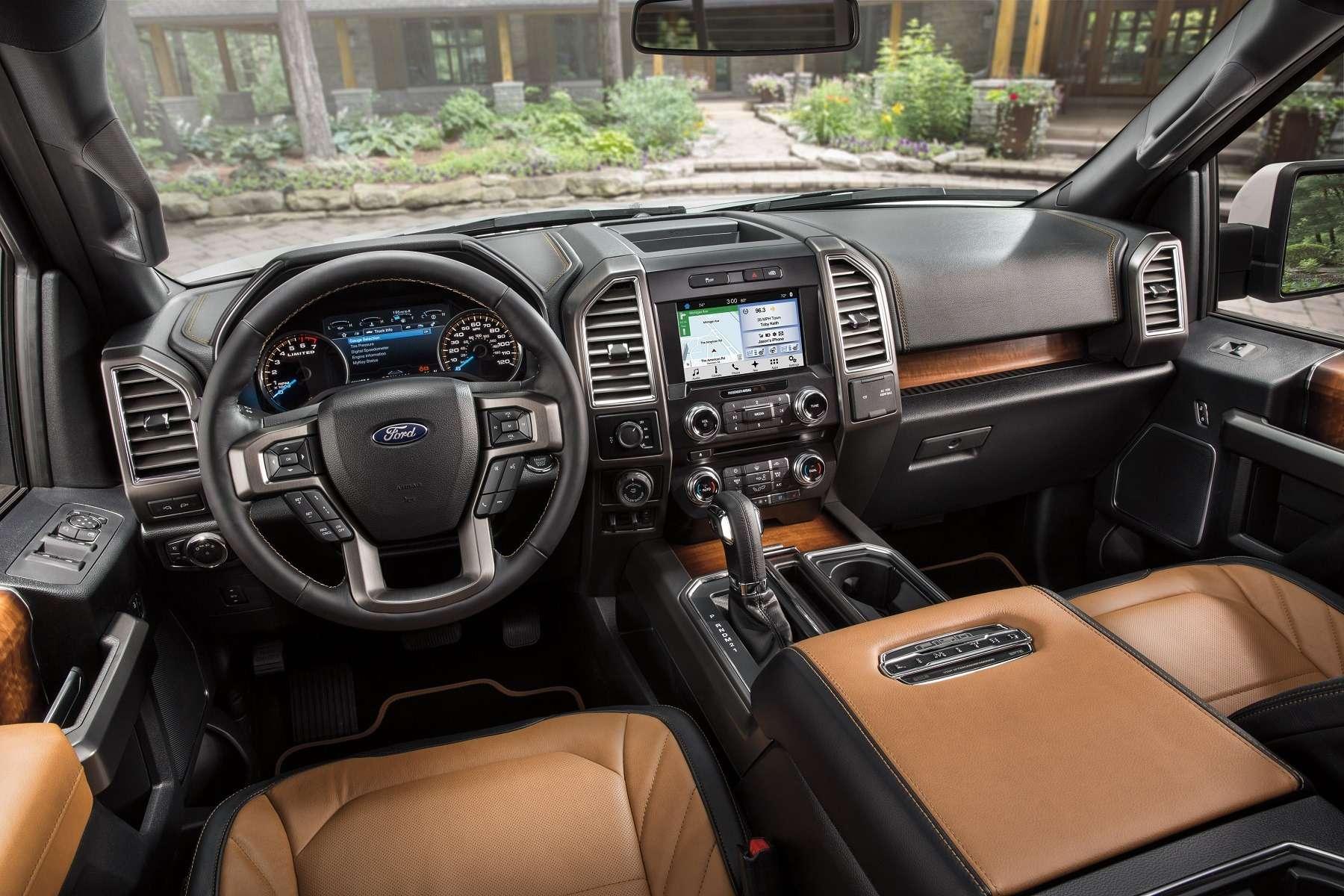 Интерьер Ford F-150