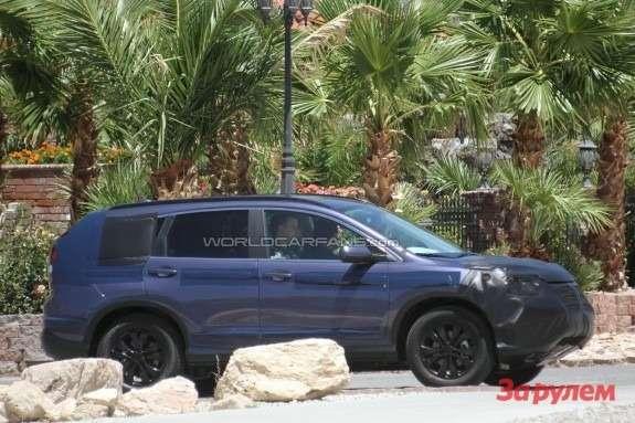 Next Honda CR-V side view