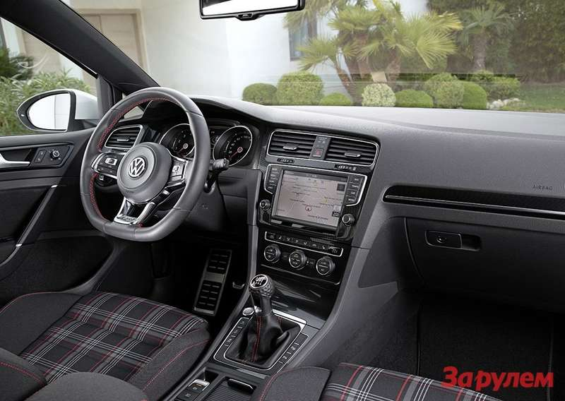 Derneue Volkswagen Golf GTI