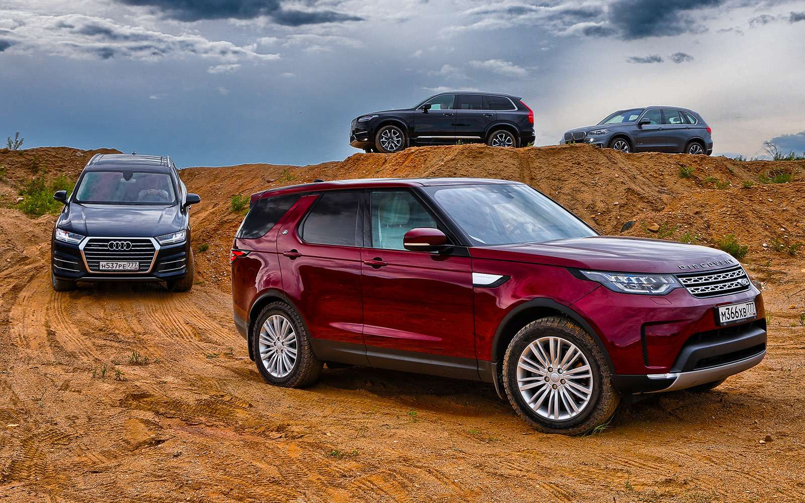 Новый Land Rover Discovery против конкурентов— тест ЗР— фото 784654