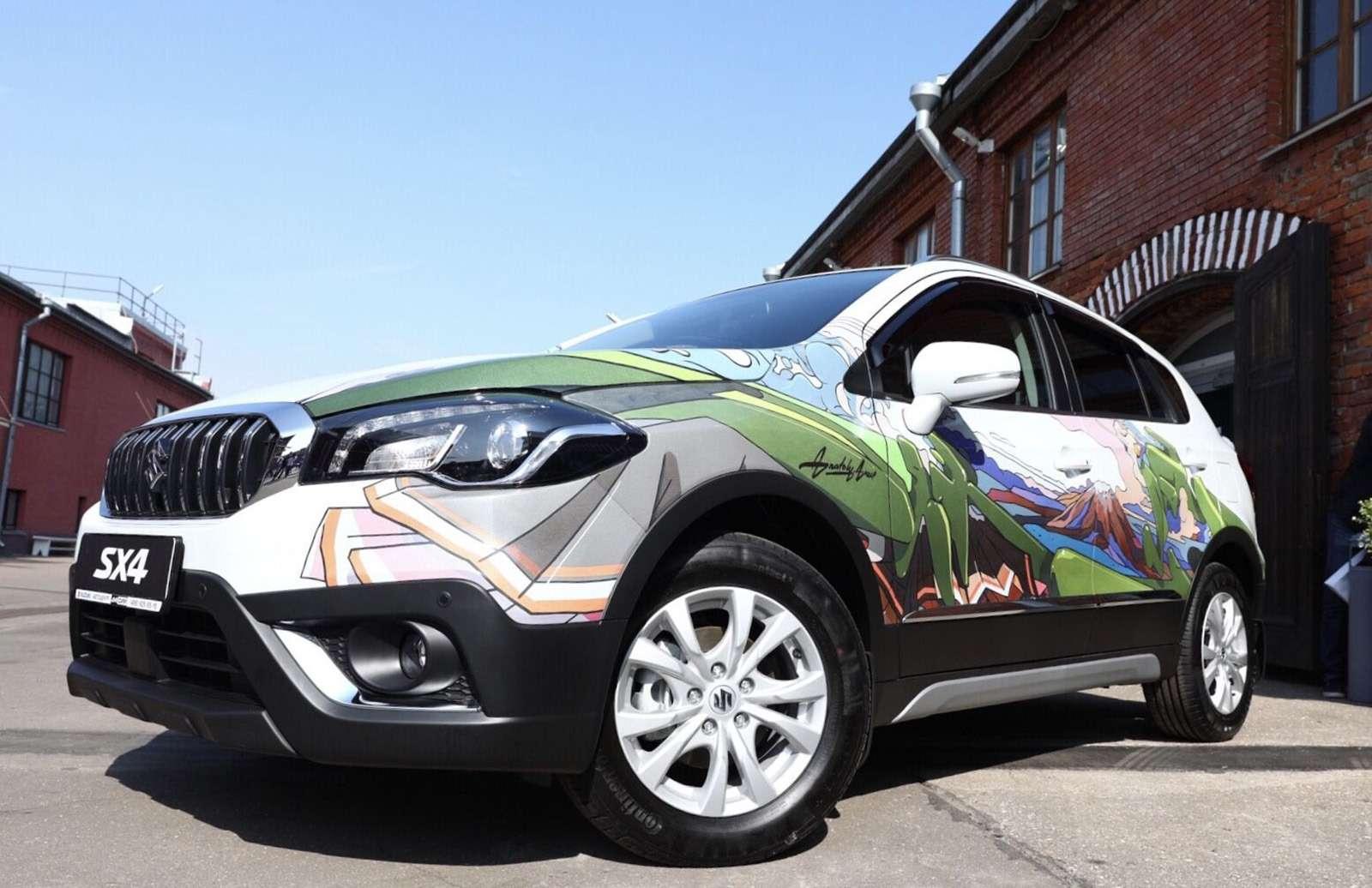В России представили эксклюзивную Suzuki SX4— фото 903045