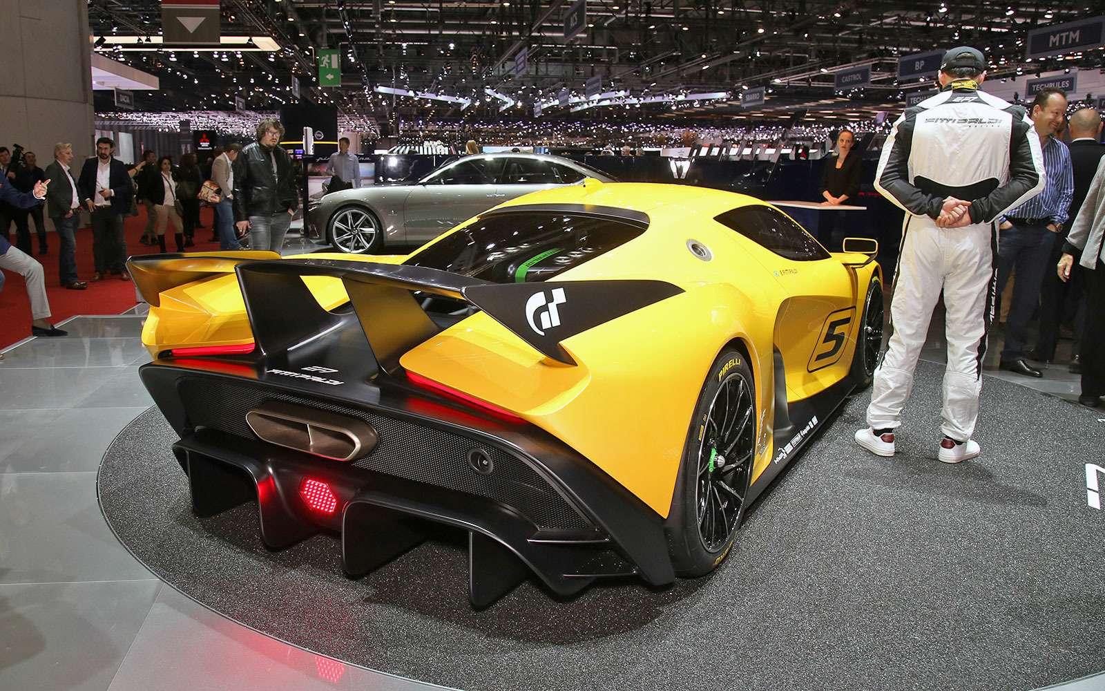 Fittipaldi EF7 Vision Gran Turismo Concept отPininfarina