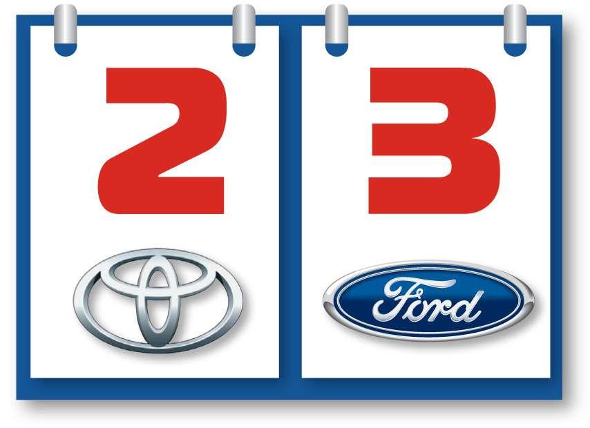 Toyota RAV4и Ford Kuga