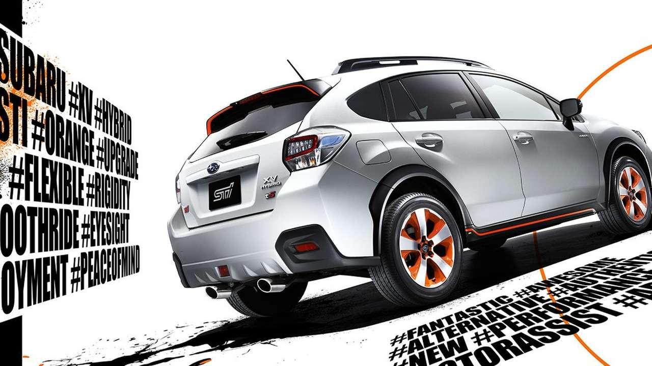 Гибридная радость: Subaru XVдосталось отSTI— фото 613362