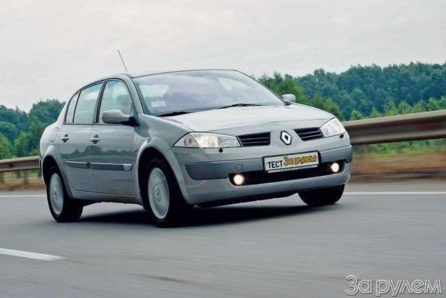 Тест Ford Focus II, Renault Megane, Mitsubishi Lancer. Двое наодного— фото 58315