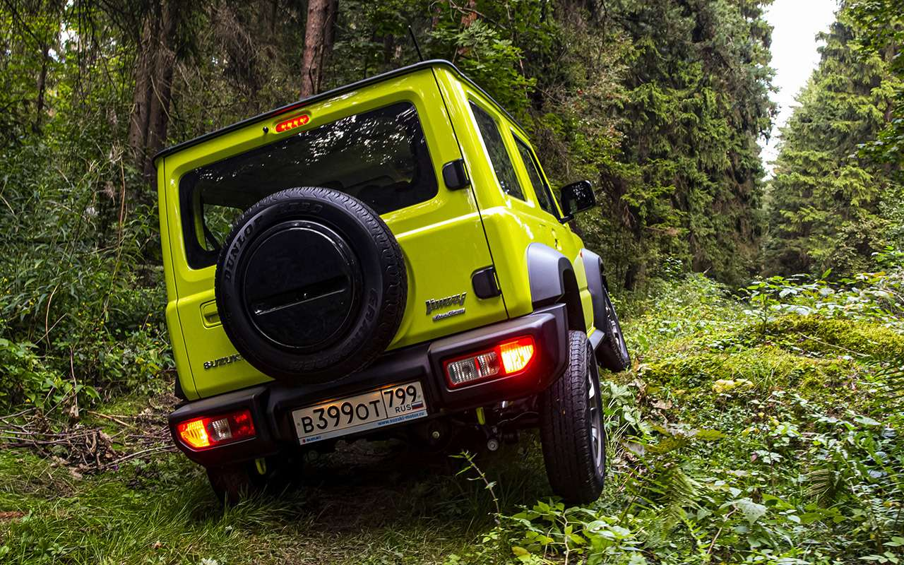 Новый Suzuki Jimny: первый тест-драйв ивидео— фото 998215