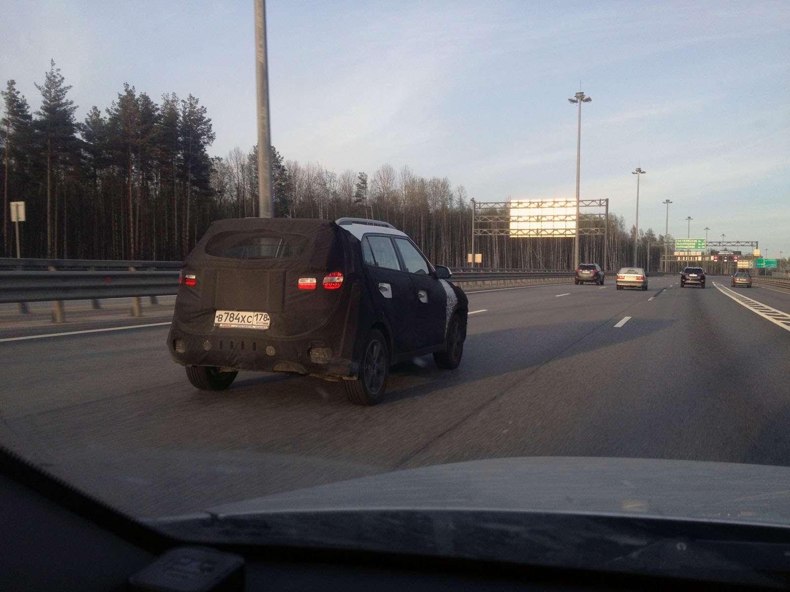 Hyundai Creta засекли наКАДе вСанкт-Петербурге— фото 586034
