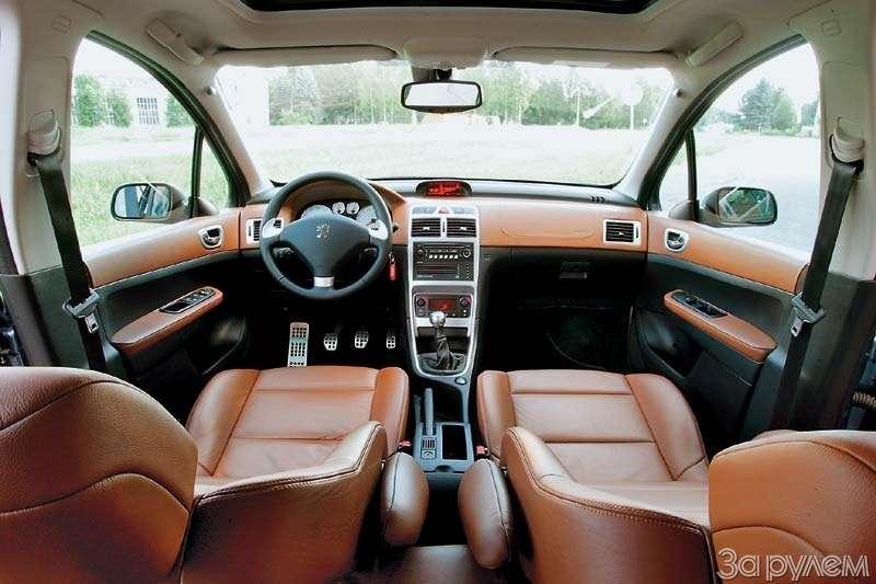 Тест Peugeot 307, Honda Civic. Берегитесь, лентяи!— фото 66525