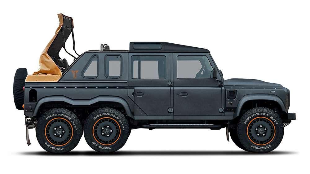 Гелендвагеном навеяло: Land Rover Defender получил две новые версии 6×6