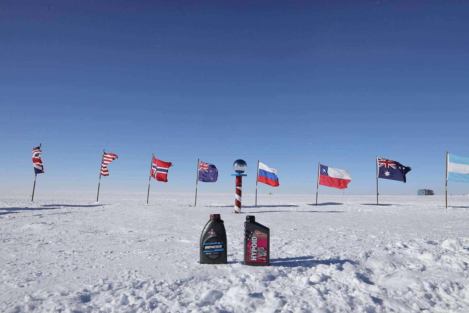 Есть рекорд: самый длинный автопробег через Антарктиду— фото 958575