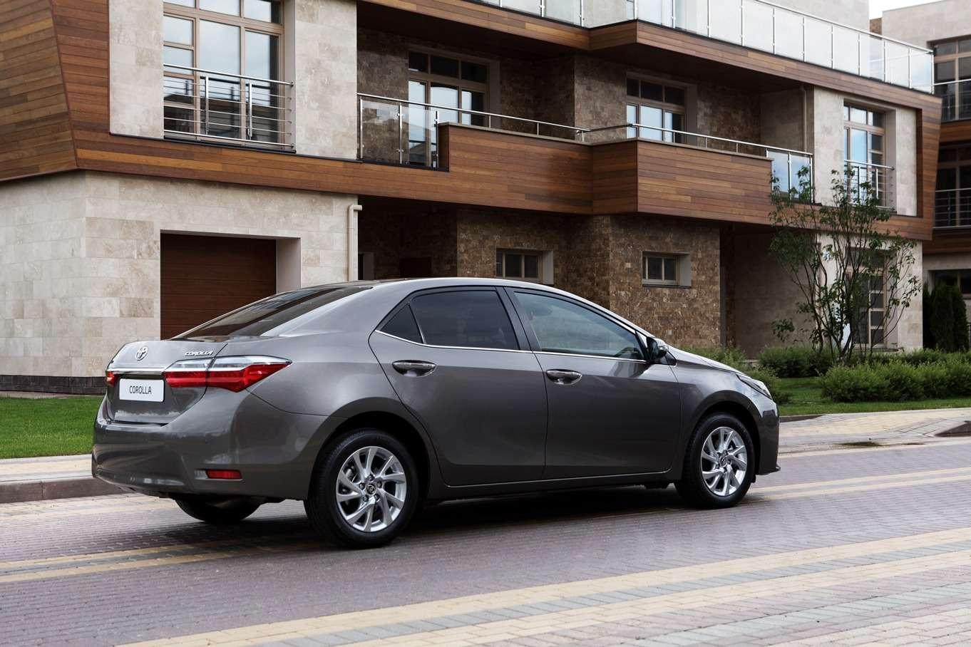 Обновленная Toyota Corolla: цены икомплектации вРоссии— фото 604798