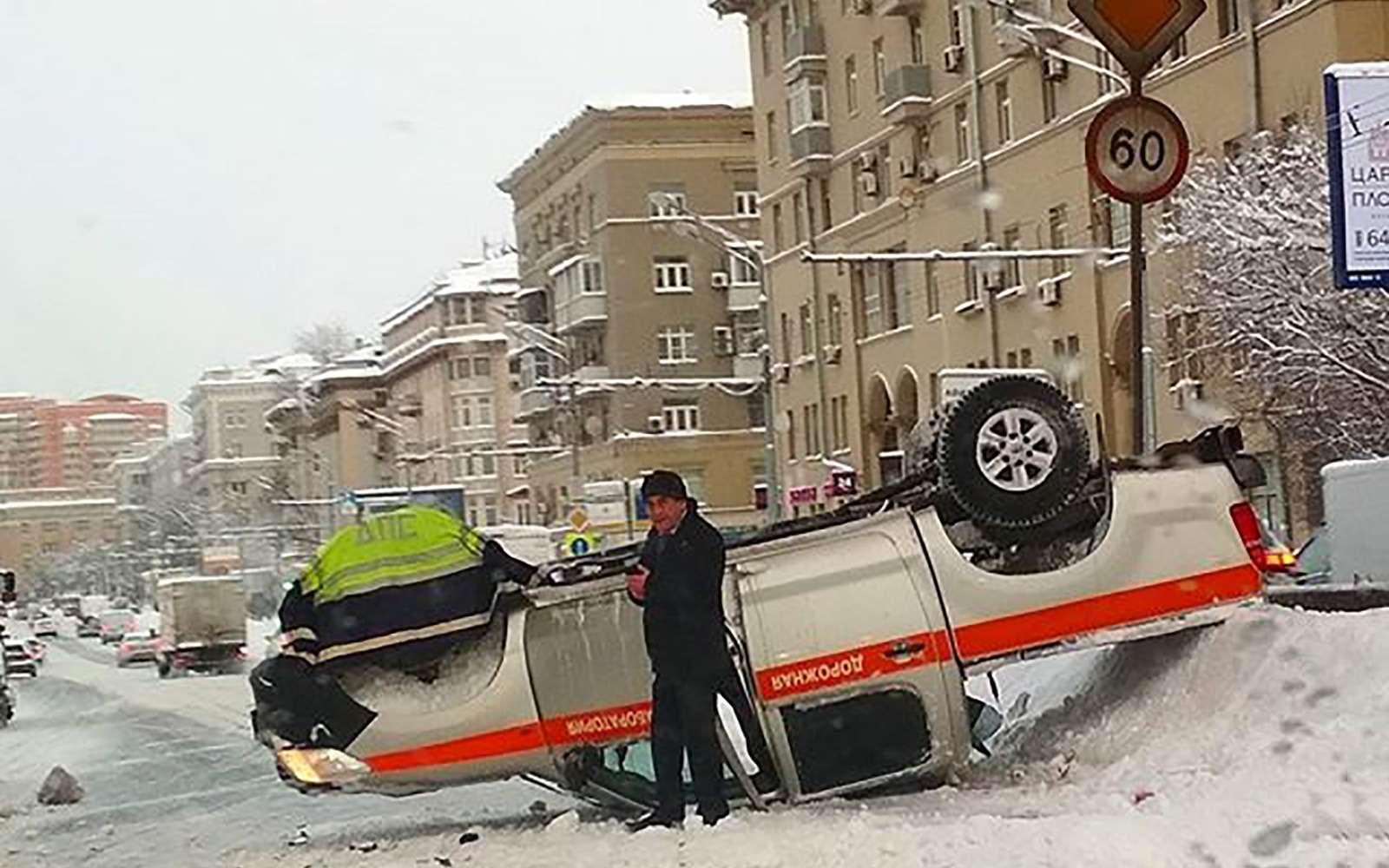 «Снегопад века»: как вМоскве пережили первый катаклизм года— фото 842107