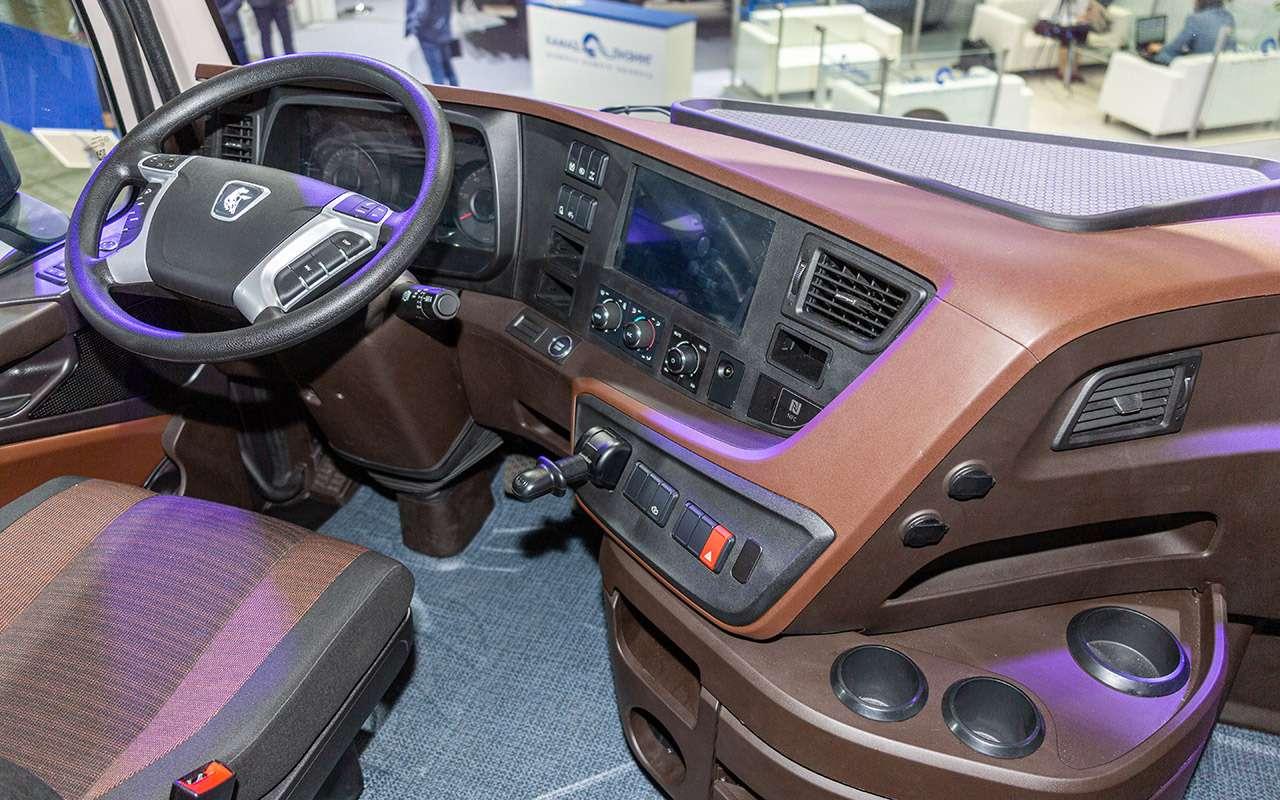 Новая кабина, новый двигатель— совсем другой КАМАЗ уже впродаже— фото 1125214