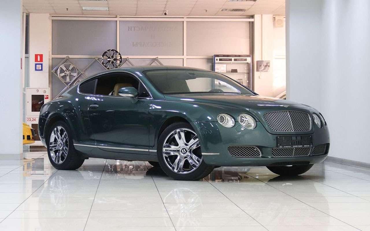 Роскошь недорого: как выбрать Bentley спробегом (инеразориться потом)— фото 1243395