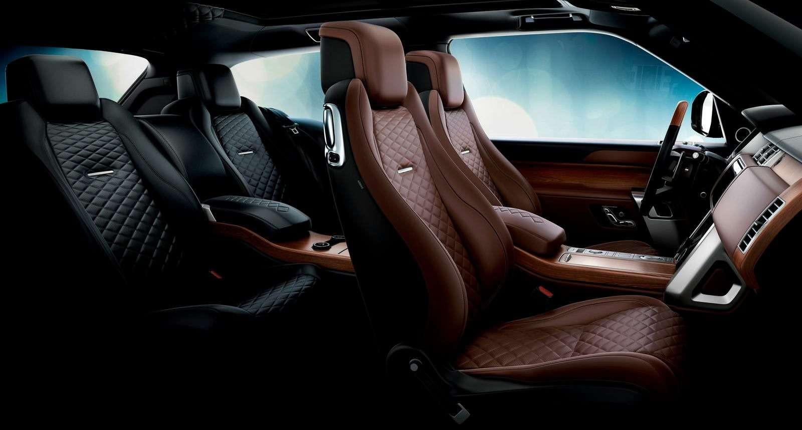 Range Rover SVCoupe: трехдверный, ноне укороченный!— фото 851203