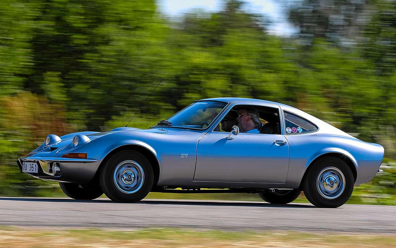 Когда-то Opel делал задорные машины...— тест 50лет спустя— фото 1059011