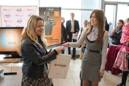 Ирина Крылова получила систему безопасности откомпании Аркан
