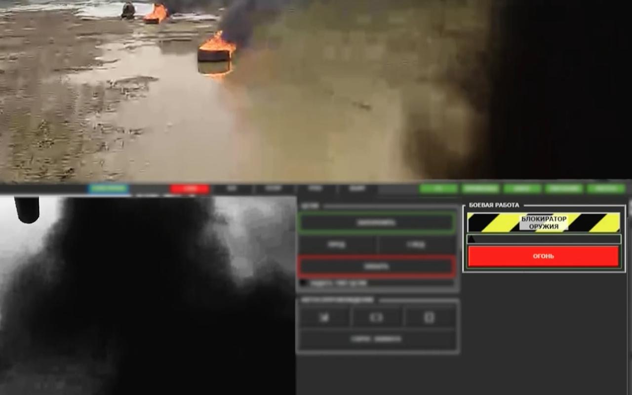 Тест-драйв боевого военного робота «Уран-9»— фото 927697