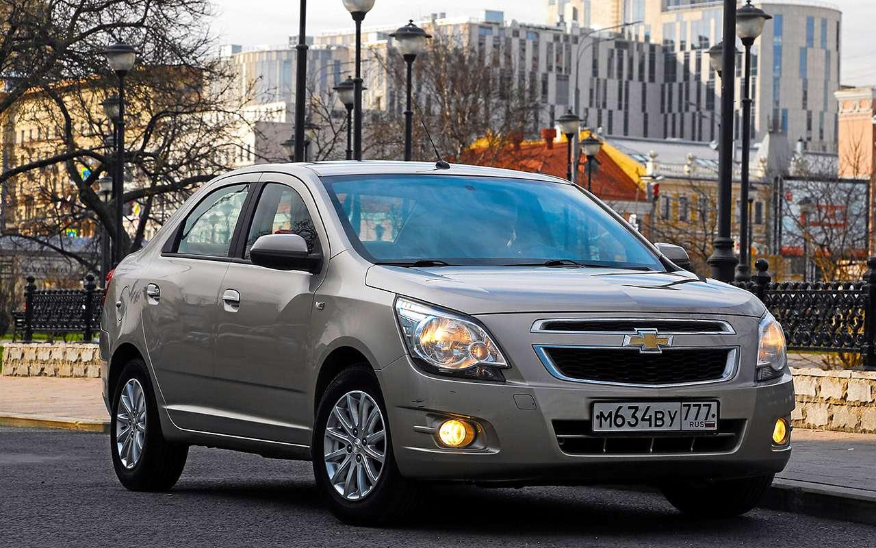 Chevrolet Cobalt после 114000км: ниодной серьезной проблемы!— фото 982736