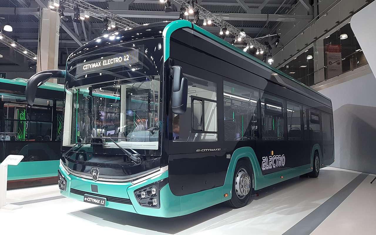 5 перспективных автобусов наCOMTRANS 2021(+троллейбус КАМАЗ)— фото 1276398