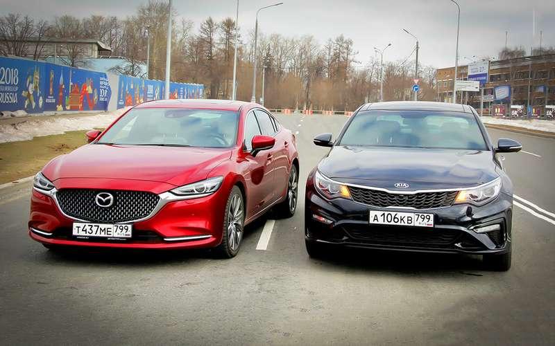 KiaOptima— Mazda 6: оптимальный ответ