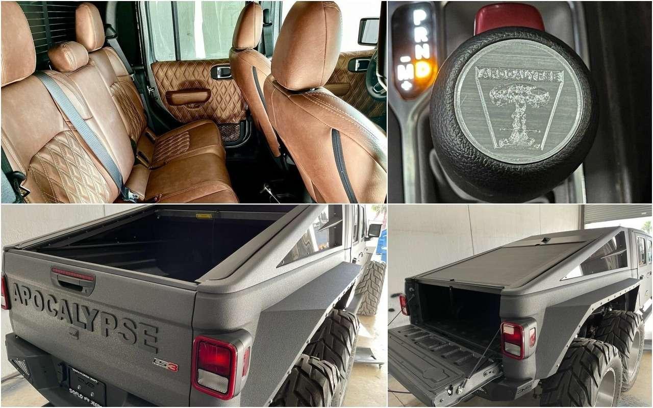 Шестиколесный Jeep Апокалипсис продают за$200 тысяч— фото 1233366