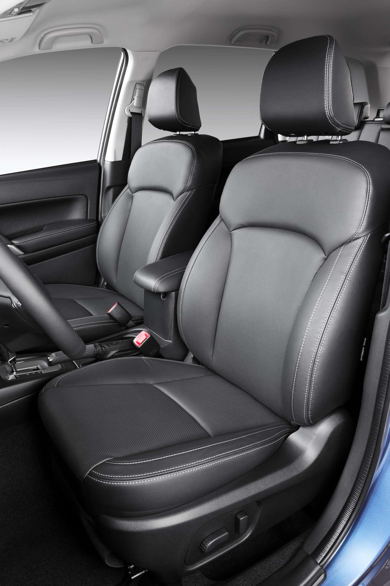 Обновленный  Subaru Forester: тише едешь...— фото 594335