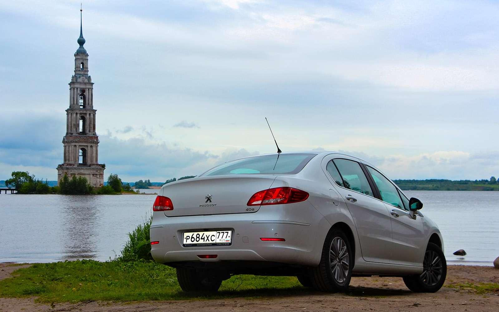 Обновленный Peugeot 408— тест-драйв ЗР— фото 779130