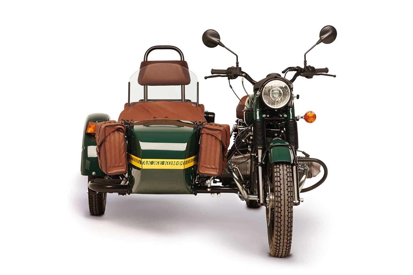 Новая версия мотоцикла Урал: теперь сканистрой водки— фото 911066