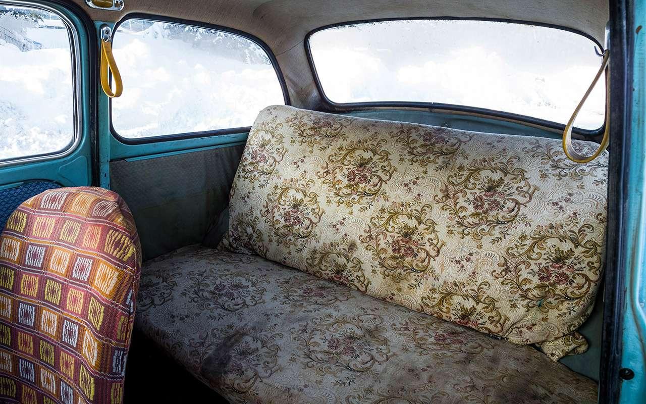 Советские автомобили против иномарок— супертест кюбилею— фото 858377