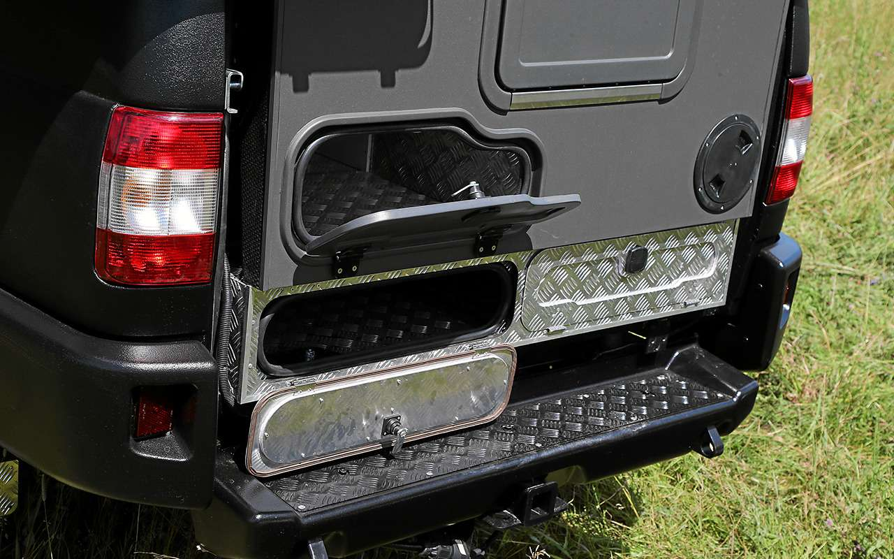 Автодом набазе пикапа УАЗ— подробный обзор— фото 1159474