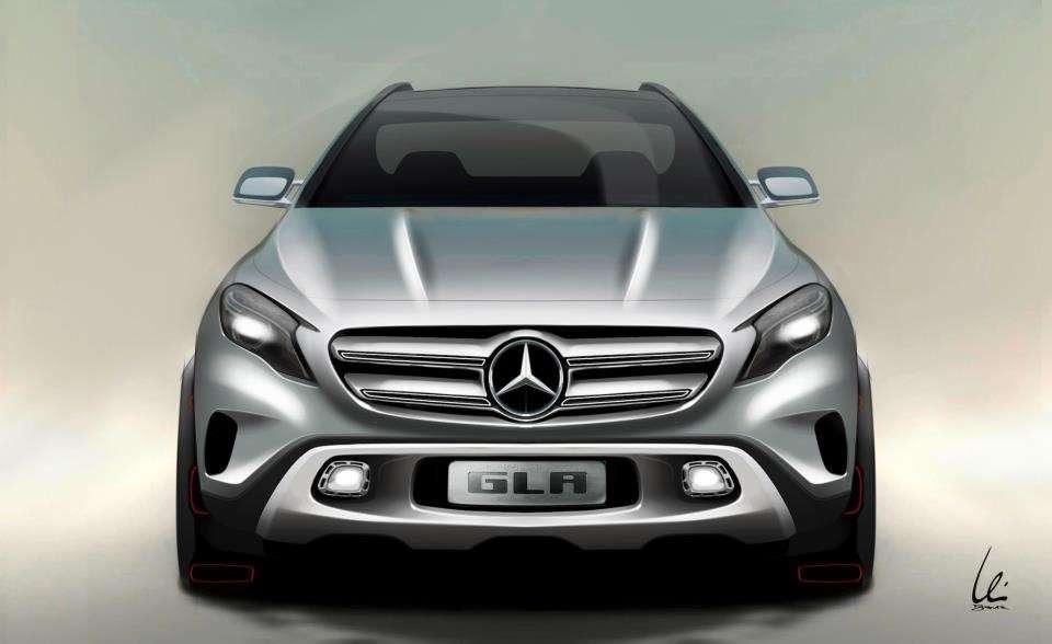 nocopyright Mercedes GLA Concept 1