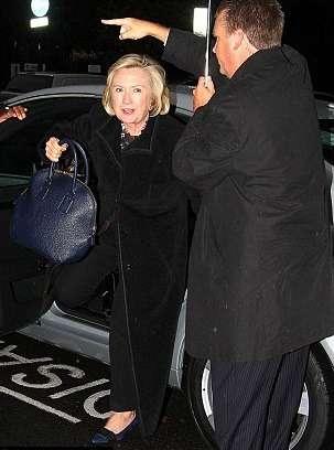 Хиллари Клинтон заплатила штраф запарковку