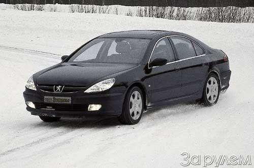 Peugeot 607. ВЫЗОВ ЗАУРЯДНОСТИ— фото 23621