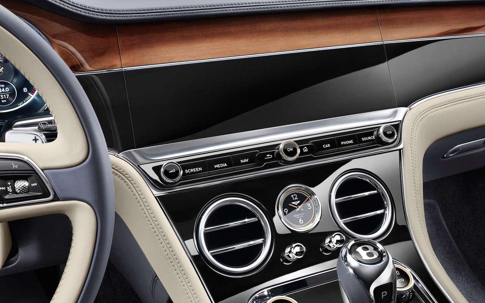 Новый Bentley Continental GT: двухдверная Panamera по-британски— фото 789203