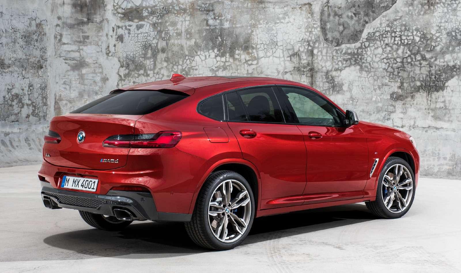 Новый BMW X4: искусство маскировки— фото 844917