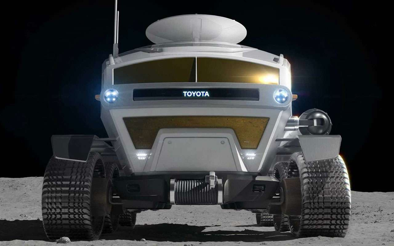 Toyota делает луноход. Угадаете название?— фото 1163651